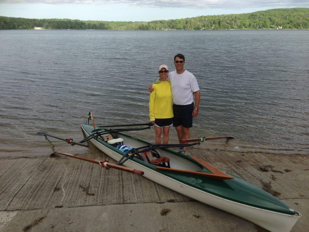 Alden Adirondack Rowing