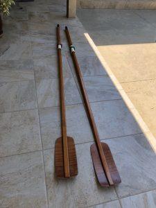 Douglas Feathor Sculling oars